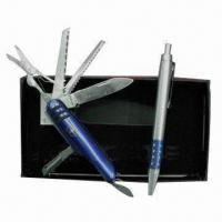 Quality Promotional Gift Set with Plastic Pen for sale