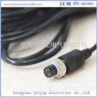 Quality Customized 3 Pin Backup Camera Cable , PVC Jacket Backup Camera Extension Cable for sale