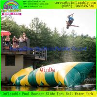 Guangzhou QinDa  Hot Sale Inflatable Water Blob / Inflatable Blob Jump Water Toy Sale