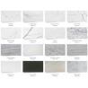 Buy cheap White Quartz Solid Stone Countertops For Kitchen 2.5 G / Cm3 Bulk Density from wholesalers