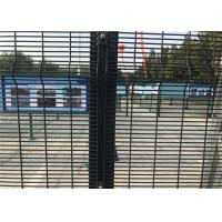 China High security Wire Fence Panels Anti cut climb Powder Coated RAL 9010 on sale