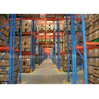 Quality Economical Warehouse Adjustable Pallet Rack Storage Systems With Stable Structure for sale
