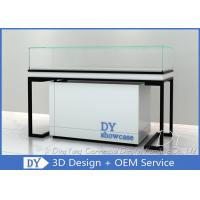 Buy cheap Metal Woodjewelry shop counter / Jewelry Counter Display Cases from wholesalers