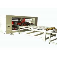 China Corrugated Carton Box Double Pieces Stitching Machinery For 1200 - 1500mm Max Width Sheet on sale