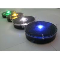 Quality Remote Controlled Plastic Solar Cycle Way Road Markers With Synchronized Flash for sale