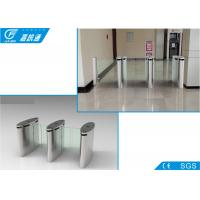 Quality 304 Stainless Steel Electronic Turnstile Gates Full Automatic Channel Width550 - 850mm for sale