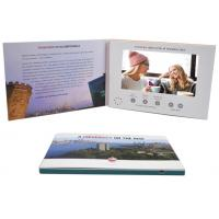 Quality Promo Advertising A5 7'' Digital Catalogue Card Lcd Screen Video Greeting Brochure For Wedding Invitation for sale