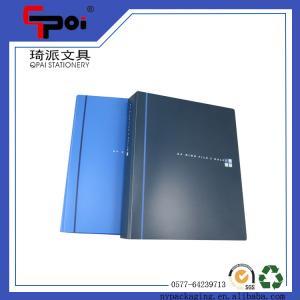 Quality Filling Products PP File Folder A4 Bule 2 Ring Binder Document Folder Ring Binders for sale