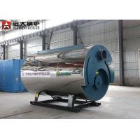 Quality 2800kw Fuel Gas Heavy Oil Hot Water Boiler Low Pressure Q345R Material ISO9001 for sale