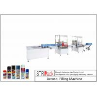 Quality High Performance Aerosol Filling Machine , Aerosol Paint Can Filling Machine  for sale