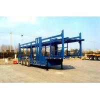 China 3 Axle 22 Meters Auto Transport Carriers Hydraulic Semi Truck Car Carrier on sale
