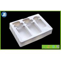 Buy cheap Cosmetic flocking vacuum formed plastic trays blister with Recycled from wholesalers