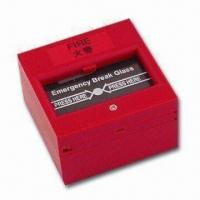 Quality Break Glass Fire Emergency Exit Release with NO/NC Feature, Measures 86 x 86mm for sale