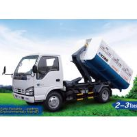 Quality Sanitation Truck, XZJS041ZXX Hooklift Truck, 2tons Detachable container garbage truck and roll off garbage truck for sale
