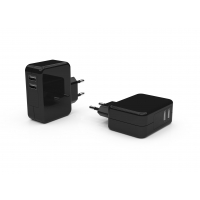 Quality CE 2 Ports 5V4.8A EU Charger Adapter for sale