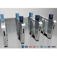 Quality Waist Height Turnstile Security Systems , Face Recognition Speed Fastlane Turnstile for sale