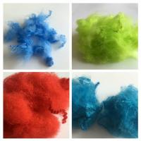 Quality Dope Dyed Staple Recycled Pet Fiber 2.5D - 15D Staple Fiber For Non Woven for sale