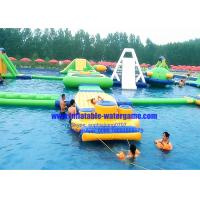 China Heavy Duty Rent Inflatable Water Parks Environment Friendly CYWP-1626 on sale