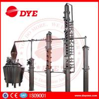 Quality 100% Red Copper Whisky Distilling Equipment Vodka Alcohol Distillation Process for sale