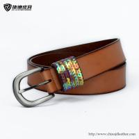 Quality Ladies Painted Leather Split Belt-JDLA13085,Leather Belt Factory,Belt OEM for sale