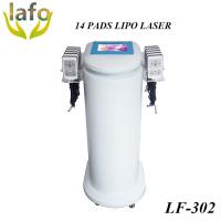 China HOTTEST! 650nm Diode Lipo Laser Machine For Sale / 14 PADS lipo laser slimming machine on sale