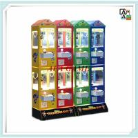 Buy Colorful multi player family entertainment arcade indoor amusement candy plush toy game machines at wholesale prices