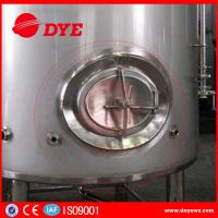 Buy 3000L Sanitary Stainless Steel Wine Tanks For Brewery / Beer Brewing Tanks at wholesale prices