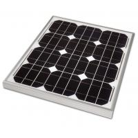 Quality Anti - Pid Monocrystalline Silicon Solar Panels , 30w Waterproof Mono Pv Module for sale
