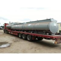 China Chemical Road Tankers For Hydrochloric Acid With Steel Lined PE 16mm -18mm Tank Body on sale