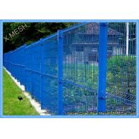 Quality PVC Coated Square Wire Mesh Fence Safety Garden Fence for sale