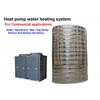 China 4.0 Cop Solar Powered Hot Water Heater Floor Standing Installation CE Approved on sale