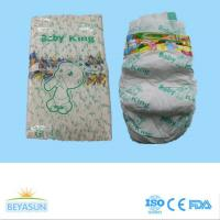 Buy cheap Baby king brand baby diaper with high quality , strong absorption, pp tape, magic tape, hot selling for boliva market from wholesalers
