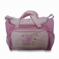 Quality Diaper Bag, Made of Polyester, Measuring 16 x 6.5 x 12.25 Inches for sale