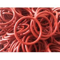 Quality Versatile Orange Color Rubber O Rings , Hydraulic O Rings Seals Prevent Fluid Leakage for sale