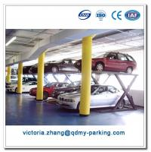 China Two Vehicle Car Parking Lift China Scissor Lift Manual Scissor Lift Table on sale