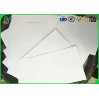 Quality Grade A 600g Or Other Different Size Double Coated Glossy White Paper For Making Packages for sale