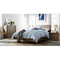 Quality Apartment Furniture Modern design Bedroom sets of Single Bed with Nightstand and Drawer Chest for sale