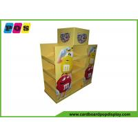 Quality Promotional Advertising Cardboard Pop Up Display For M&M Candies PA015 for sale