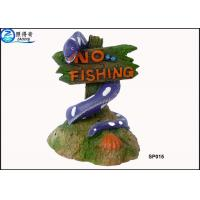 Buy No Fishing Mark Cute Modern Fish Tank Ornaments Aquarium Resin Decorations with Dolphins at wholesale prices