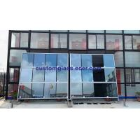 Quality Office Building Windows Tempered Glass/Mirror Glass Curtain Wall for sale