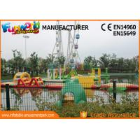 Buy cheap 0.9mm PVC Tarpaulin Inflatable Water Parks , Mega Inflatable Water Sports for Adult from wholesalers