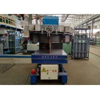 Quality Industry usage busbar Powered High Frequency Rail Flat Cart for sale for sale