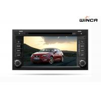 Quality 7 Inch HD 2 Din Car DVD for Seat Leon 2013 Audio GPS Navigation for sale