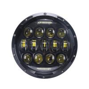 Quality 10 - 30 Volt DC 7'' Jeep Wrangler Headlights / 75w LED Car Headlights for sale