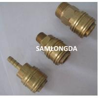 Quality Europe type quick coupler, air hose coupler, one touch coupling,Brass socket,brass material with high pressure 15bar for sale