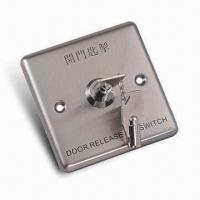 Quality Emergency Button with Key and NC Contact Output for sale