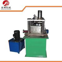 Quality Automatic U Channel Light Gauge Shutter Door Track Roll Forming Machine for sale