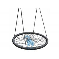 Buy Durable Adult Round Braiding Rope Nest Swing Hanging by Sturdy Belt at wholesale prices