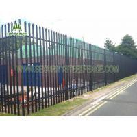 Quality Heavy Duty Steel Palisade Fencing 2m Width Easy Install For BTS Site Protection for sale