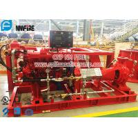 Quality End Suction Diesel Engine Driven Fire Pump Set Horizontal Firefighting Use for sale